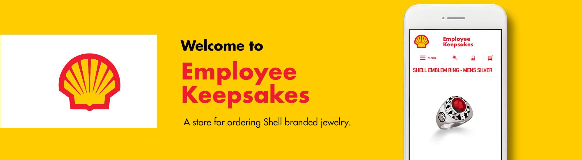 Welcome to Shell Employee Keepsakes